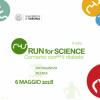6 maggio 2018 - RUN for SCIENCE - Corriamo con(tro) il diabete